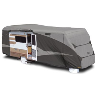 "Picture of ADCO Designer SFS Aquashed (R) Gray Fabric Cover For 26' 1""-29' Class C Motorhomes 52844 01-0268"