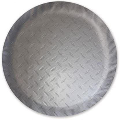 """Picture of ADCO  Steel Look 25-1/2"""" Size-L Spare Tire Cover 9758 01-0377"""