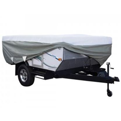 Picture of Classic Accessories PolyPRO (TM) 3 Poly Water Resistant RV Cover For 12-14' Folding Camper Trailers 80-040-163106-00 01-0392