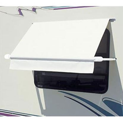 """Picture of Carefree SimplyShade (R) White 3' 6"""" DIY Window Awning WH0354F4FW 01-0971"""