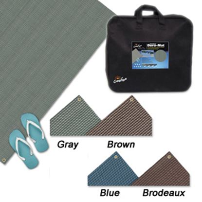 Picture of Carefree Dura-Mat (TM) 8' x 10' Blue Camping Mat 181073 01-2512