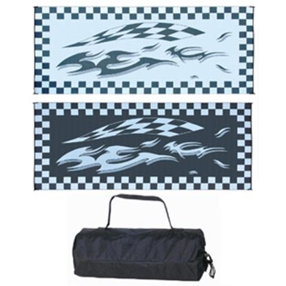 Picture of Ming's Mark  8' x 20' Black/White Reversible Camping Mat HC1 01-4990