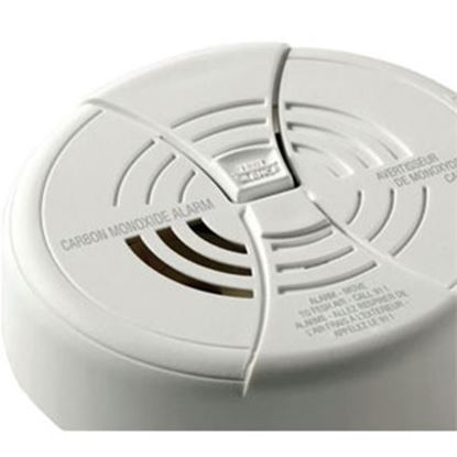 "Picture of Kidde  White 1.6""H Battery Carbon Monoxide Detector CO250RVA 03-2138"