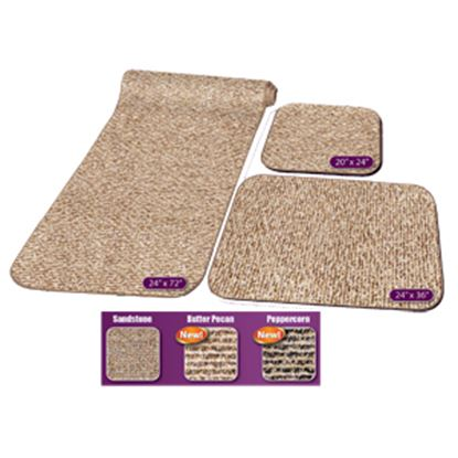 Picture of Prest-o-Fit Decorian (R) Sandstone 3-Piece RV Rug Set Carpet 5-0258 04-0453