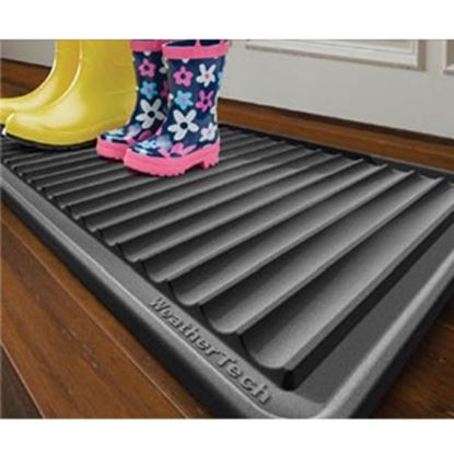 "Picture of Weathertech BootTray (TM) Black 16""x36"" Boot Tray IDMBT1B 04-2586"