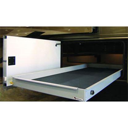 """Picture of MOR/ryde MOR/stor 800 lb Powder Coat 20"""" W x 36"""" D Cargo Slide w/Flooring CTG60-2036W 05-0470"""
