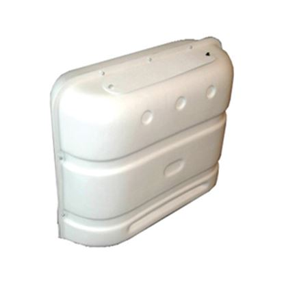 Picture of Icon  Polar White PE Double 20LB/30LB LP Tank Cover w/ Gas Valve Access 00386 06-0110