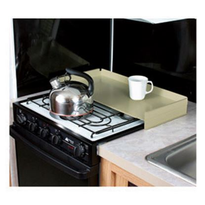 Picture of Camco  Almond Steel Universal Fit Stove Top Cover 43559 07-0293