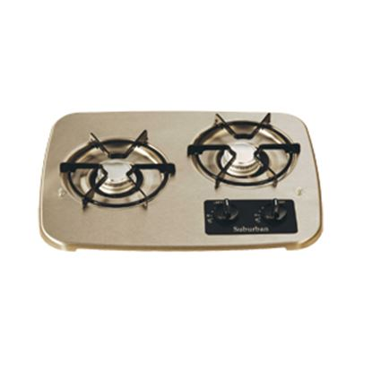 Picture of Suburban  2-Burner Match Light Drop-In Cooktop 2937AST 07-0325