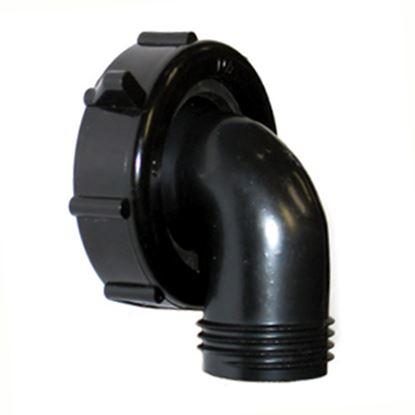 "Picture of Valterra  90 Deg x 1-1/2"" Swivel Waste Water Drain Adapter T01-0091VP 10-0703"