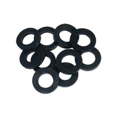 Picture of Phoenix Faucets  10-Pack Black Shower Hose Washer PF276002 10-1533