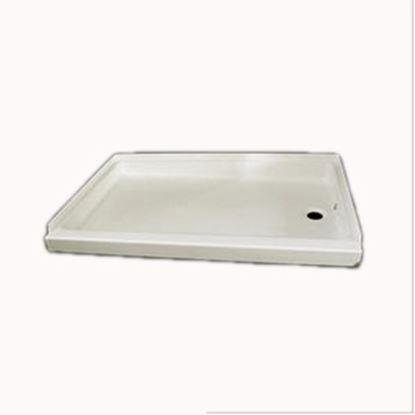 "Picture of Specialty Recreation  Parchment 24""x 36"" Right Hand Drain Shower Pan SP2436PR 10-1833"