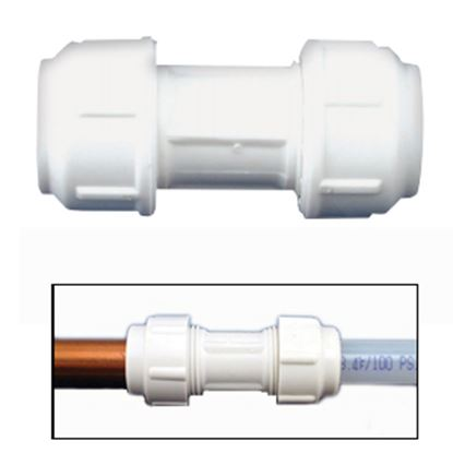 """Picture of Flair-It  1/2""""CU x 1/2""""CU Transition Fitting 06343 10-8013"""