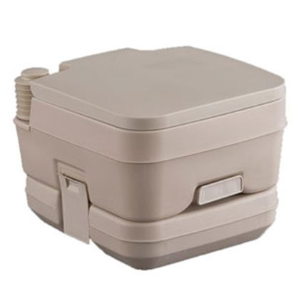 Picture of Heng's  Tan 2.5 Gal Portable Toilet 2201 12-0004
