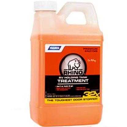 Picture of Camco RhinoFLEX (TM) 64 Oz Bottle Holding Tank Treatment w/Deodorant 41514 13-0076