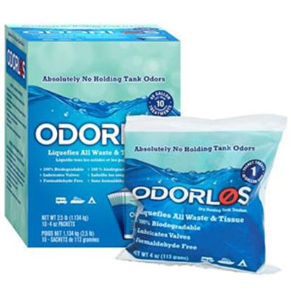 Picture of Odorlos  10-Box 4 Oz Holding Tank Treatment V77011 13-1142