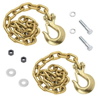"""Picture of Tow-Ready  42"""" Class III 4,700 Lb Safety Chain w/ Clevis Hook 49150 14-0937"""