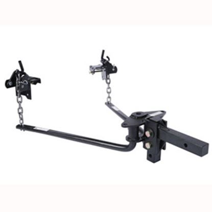 """Picture of Husky Towing  400-600 Lb Round Bar Weight Distribution Hitch w/10"""" Shank 31421 14-1067"""