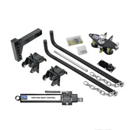 Picture of Pro Series Hitches  1,000 lbs Round Bar Pro Series Wt Distribution Hitch 49903 14-7033