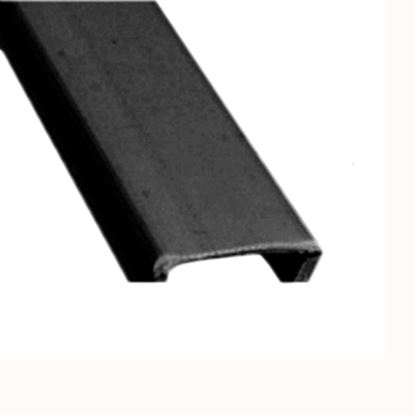 """Picture of AP Products  5-Pack Black Plastic 9/16""""W X 8'L Trim Molding Insert 011-355-5 15-0395"""