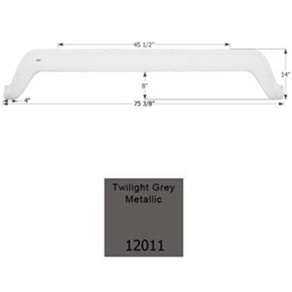 Picture of Icon  Light Gray Tandem Axle Fender Skirt For Dutchmen Brands 12011 15-0464