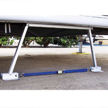 "Picture of Valterra  14""-28"" Manual Trailer Stabilizer Jack 020106 15-0964"