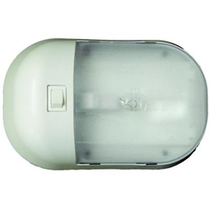 Picture of Command Omega White Single Dome Light 001-901XPB 18-0234