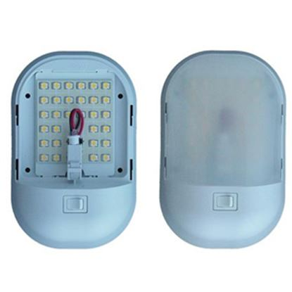 Picture of Command Omega Single Warm White LED Dome Light K-9010 18-0644
