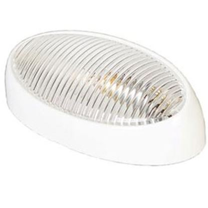 Picture of Arcon  Clear Lens Oval Porch Light w/o Switch 51251 18-0796