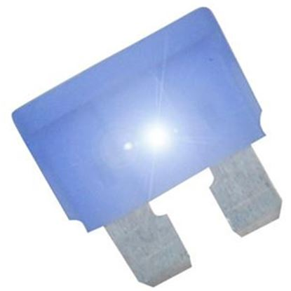 Picture of Diamond Group  2-Pack Time Delay 15A ATP Blue Blade Fuse DGIF118VP 19-0010