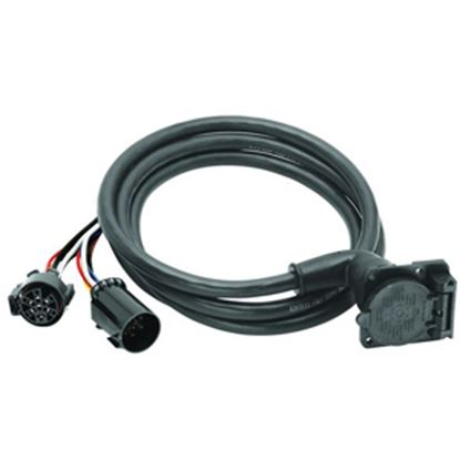 Picture of Bargman  90 deg 7-Blade OEM to GM Park Power Adapter, pkg 51-97-410 19-0684