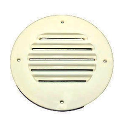 Picture of MTS  Colonial White Battery Box Outside Vent 310 19-0841