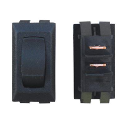 Picture of Diamond Group  Black 125V/ 13A SPDT Rocker Switch For Monitor Dash Panel DGG111UVP 19-2077