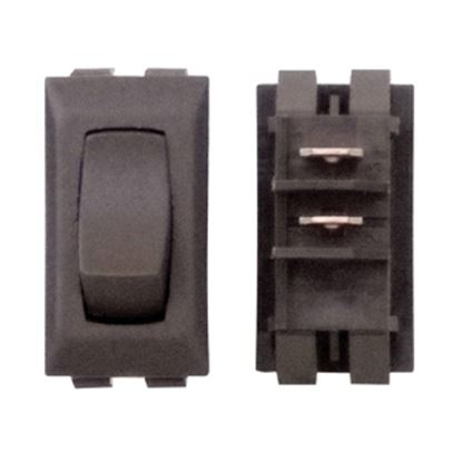 Picture of Diamond Group  Brown 125V/ 13A SPDT Rocker Switch For Monitor Dash Panel DGG114UVP 19-2078