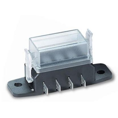 Picture of Battery Doctor  4-Way ATM/Mini Blade Fuse Block 31010-7 19-2902
