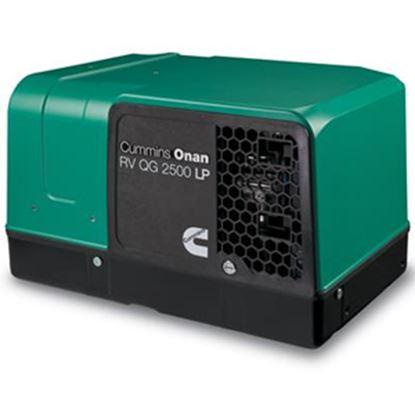 Picture of Cummins Onan Quiet Gasoline (TM) 2800W Gasoline Electric Start Generator 2.8HGJBB-1120 19-3266