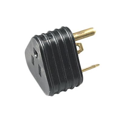 """Picture of Arcon  12""""L 15A To 30A Flat Wire Power Cord Adapter 14054 19-3349"""