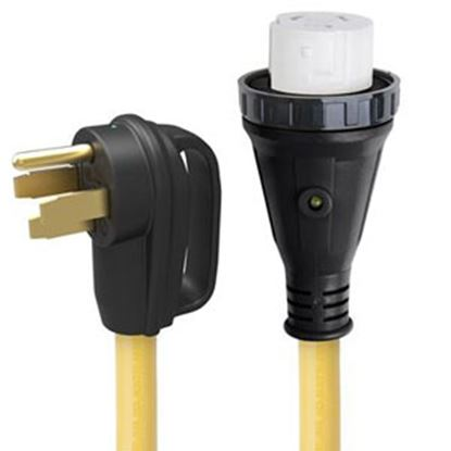 "Picture of Marinco  25"" 50A Power Cord Adapter 50ARVD25 19-4265"