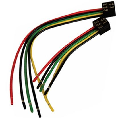 "Picture of Diamond Group  5-Pin Square 6"" Slide Out Wiring Harness DG126VP 19-5020"