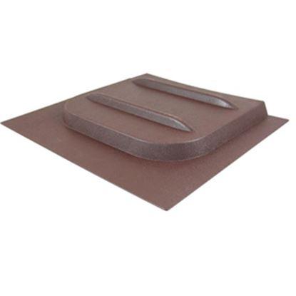 "Picture of Valterra E-Series 12-1/8""H X 10-3/4""W Brown Plastic Screen Door Slide W/Stop A77017 20-0154"