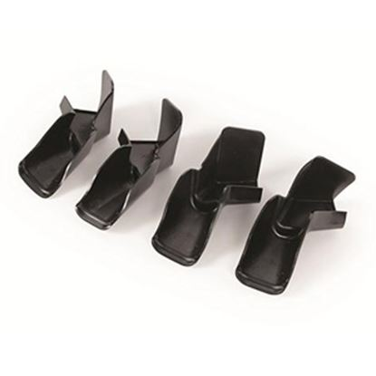 Picture of Camco  Black Plastic Drip Rail Gutter Spout 42323 20-0163