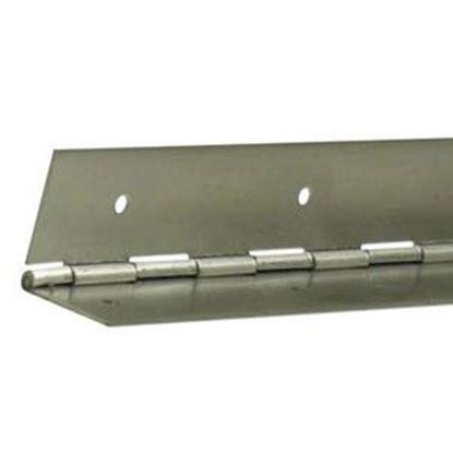"""Picture of ETD  Aluminum .090 x 2-1/4"""" x 72"""" Continious Hinge ETD 387 20-0727"""