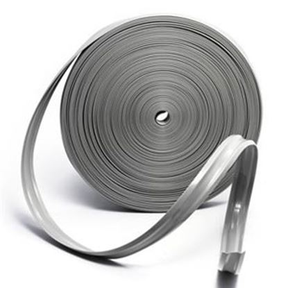 "Picture of Camco  Light Gray Vinyl 1"" W X 100' L Trim Molding Insert 25233 20-0751"