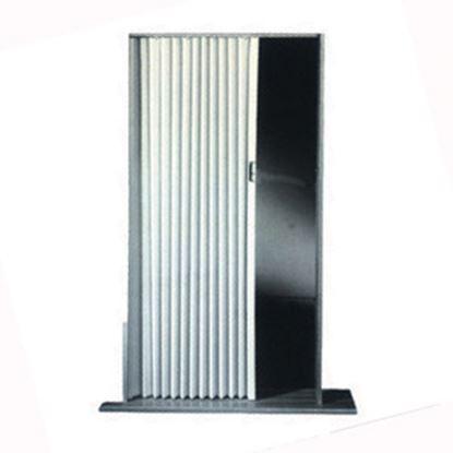 "Picture of Irvine  Ivory 36""x75"" HD Fabric Pleated Folding Interior Door 3675FIB 20-1505"
