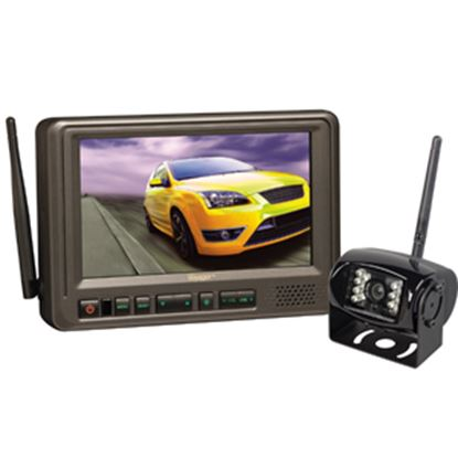 "Picture of Voyager  Black +/-60 Deg Back Up Camera w/7"" LCD Display WVOS713 24-3210"