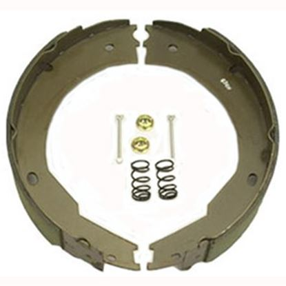 "Picture of AP Products  12"" Brake Shoe & Lining Kit 014-136444 46-0813"