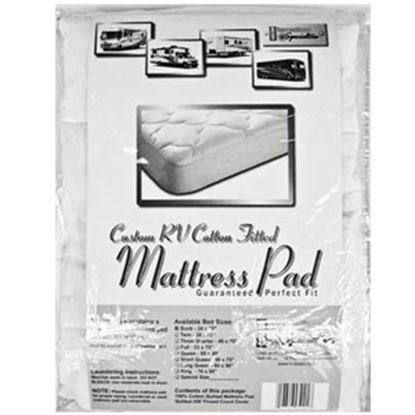 Picture of Custom Recreation  Padded Queen Mattress Pad RV60X80/100%MP 69-1166