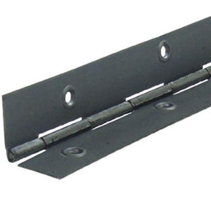 """Picture of ETD  Aluminum .063 x 4"""" x 72"""" Continious Hinge ETD 333 69-9040"""