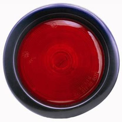 """Picture of Diamond Group  Red 4"""" Round Stop/ Turn/ Indicator Light WP-400R 71-2616"""