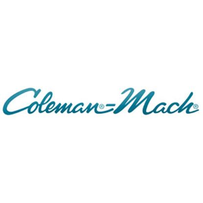 Picture of Coleman-Mach  Black Cool Analog Wall Thermostat 7330-3861 71-4730